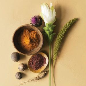 Kosmetik, Make up, Augenbrauen - Verwendung von natürlichen Produkte