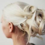 Hochsteckfrisuren: Hairstyling blond