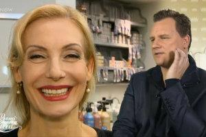 Nach dem Styling - Ute Lemper & Guido Maria Kretzschmer gefällt der Look mit dem Sie Shopping Queen von Dresden wird.